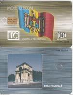 MOLDOVA - Triumph Arch, Moldtelecom Telecard 100 Units, Tirage 20000, 02/04, Used - Moldova