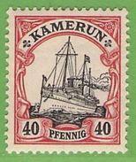 MiNr. 13 Xx  Deutschland Deutsche Kolonie Kamerun - Kolonie: Kamerun