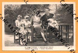 La Famille Royale - Château Stuyvenberg - Kasteel Stuyvenberg - Photo R. MARCHAND - Edit. BERTELS - Familles Royales