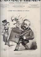 Revue Le Monde Parisien 1881 Orgue De Barbarie Gambetta Bismarck Jeu De Cartes Playing Cards Voir Scans - Books, Magazines, Comics