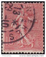 FRANCE 1926  -  Y&T  129 -  Semeuse Lignée  - Oblitéré - 1903-60 Semeuse Lignée