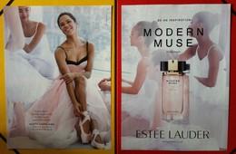 Estée Lauder - Publicité Double  - Modern Muse - Perfume Cards