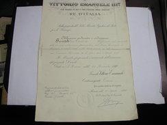 S. ROSSORE  -- PISA  --ROMA  ---   PROMOZIONE   DI PERSONALE AMMINISTRATIVO -- VITTORIO EMANUELE III - Italia