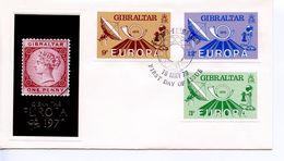 GIBRALTAR -  1979 EUROPA STAMPS    FDC1200 - Gibraltar