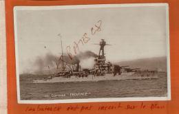 Carte Photo  Bateau  Guerre  CUIRASSE  PROVENCE    Rade De TOULON     Nov 2017 979 - Krieg