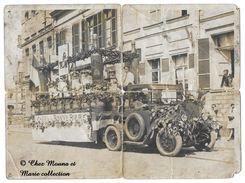 CHAR DE LA BONNE BIERE - BOUTEILLE BRUNE DE MUNICH - PANNEAU LA NATIONALE - PHOTO 24 X 18 - Automobili