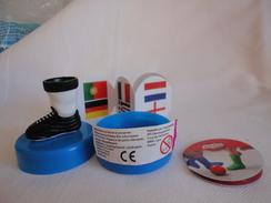 Mini Foot - Gadgets Calcio Completo Di Scatola - Babybel - 2014 - Kinder & Diddl