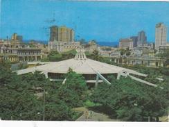 RIO DE JANEIRO - VISTA AEREA DO CORCOVADO COM BAIA DA GUANABARA    VG    AUTENTICA 100% - Rio De Janeiro