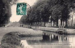 CPA - 80 - ABBEVILLE - Le Canal De La Somme - Les Ecluses - Abbeville