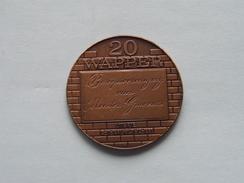 ANTWERPEN - 20 WAPPER - 1981 ( Bronskleur - Details, Zie Foto ) - Tokens Of Communes