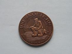 KLEIN BRABANT SCHELDELAND - 100 SNOEIERS - 1982 ( Bronskleur - Details, Zie Foto ) - Tokens Of Communes
