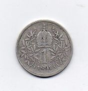 Austria - 1894 - 1 Corona - Francesco Giuseppe - Argento - (FDC6607) - Austria