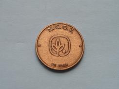100 DRAKEN Brussel - 1982 - N.C.O.V. ( Bronskleur - Details, Zie Foto ) - Tokens Of Communes
