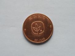 100 STROPKES OOST-VLAANDEREN - 1982 - N.C.O.V. ( Bronskleur - Details, Zie Foto ) - Tokens Of Communes