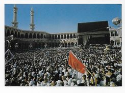 CPA CPM KSA Arabie Sahoudite The Holy Kaaba In Mecca During The Pilgrimage - Arabie Saoudite