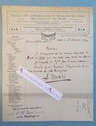 L.A.S 1912 Institut International (...) Oeuvres Dramatiques Et Lyriques - Livret D'Elsen - ISNARD Lettre Autographe - Autographes