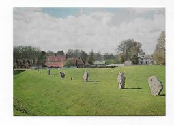 CPA CPM GB Wiltshire Avebury South West Sector Looking North - Angleterre