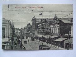 AUSTRALIA - Tasmania - Launceston - Brisbane Street - Sent To Canada - Lauceston