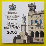 Coffret Bu Saint Marin 2006 En Parfait état - San Marino