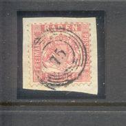 Germay Baden : 3 Kreuzer With Numbercancel 75 - Bade