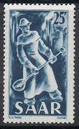 SARRE N°261 N** - 1947-56 Occupation Alliée
