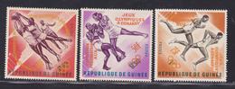 GUINEE N°  172, 174, 176 ** MNH Neufs Sans Charnière, TB  (D2024) - Guinée (1958-...)