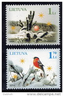 LITHUANIA 2004 Christmas  Set Of 2  MNH / **.  Michel 861-62 - Lithuania
