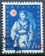RED CROSS-4+2 K-NATIONAL COSTUMES-BOSNIA-ERROR-N-NDH-CROATIA-1942 - Red Cross