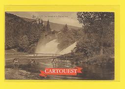 CPA  Coo La Cascade  Le Pont En Bois 1931 ( Timbrée Belgique Agriculture ) - Stavelot