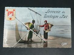BOULOGNE SUR MER    1950    VUE     CIRC  EDIT - Boulogne Sur Mer