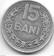 Romania 15 Bani 1975  Km 93a    Xf+ - Roumanie