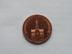 BOOISCHOT St. Salvator - 100 Paardenliefhebbers - 1982 ( Bronskleur - Details, Zie Foto ) - Tokens Of Communes