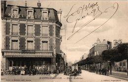 1 CPA  Mantes -la Jolie  HOTEL Moderne Propr.Leblond  Anno 1906 - Mantes La Jolie