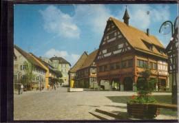 Plochingen - Marktplatz Mit Altem Rathaus Von 1538 - Alemania