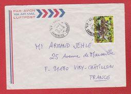 Enveloppe / Du Cameroun / Pour Viry Chatillon  / 2-4-81 - Camerun (1960-...)
