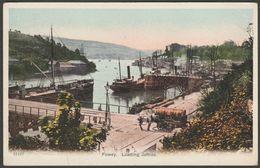 Loading Jetties, Fowey, Cornwall, C.1905-10 - Postcard - England