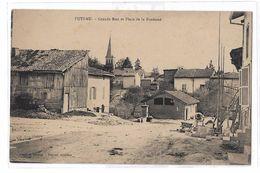 CPA Futeau Grande Rue Et Place De La Fontaine - Francia