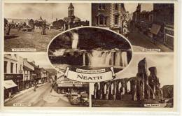 NEATH SOUTH WALES MULTI VIEW WIND STREET NEW STREET VICTORIA GARDENS FALLS THE ABBEY - Wales