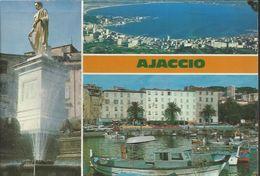Ajaccio - Napoléon 1er Consul - La Baie En Forme De Coeur - Le Port De Pêche - Ajaccio