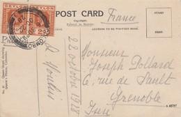 SRI LANKA - CP COLOMBO 22.10.1928 TO GRENOBLE ISERE FRANCE / 2 - Sri Lanka (Ceylon) (1948-...)