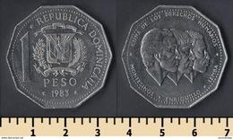 Dominicana 1 Peso 1983 - Dominicana