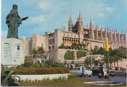 CPSM ESPAGNE PALMA DE MAJORQUE Le Palais De L'Almudaine Et La Cthédrale - Palma De Mallorca
