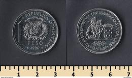 Dominicana 1 Peso 1986 - Dominicana