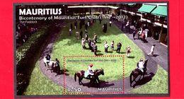 Nuovo - MNH - MAURITIUS - 2012 - 200 Anni Del Club Turf Delle Mauritius - Foglietto - 50 - Mauritius (1968-...)