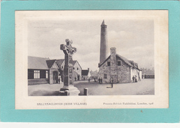 Old Postcard Of The Irish Village Of Ballymaclinton,Franco-British Exhibition, London, 1908,Posted.V43. - London
