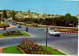 MAROC---MEKINES--panorama Ancien Ville-( Voitures Mercédes + Renault  R10 )-voir 2 Scans - Maroc