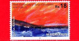 Nuovo - MNH - MAURITIUS - 2017 - 100 Anni Della Nascita Di Serge Constantin (1917 - 2017) - Night Fall, Belle Etoile 18 - Mauritius (1968-...)