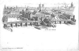 PARIS - EXPOSITION UNIVERSELLE DE PARIS 1900 :  CITE DE PARIS  -INDIVISE - A200-39 - Expositions