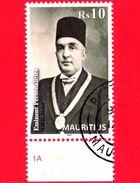 Nuovo Oblit. - MAURITIUS - 2012 - Personalità - Goolam Mahomed Dawjee Atchia - 10 - Mauritius (1968-...)