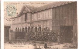 Cpa 44 Etablissement A. HAUTON Saint Nazaire Sur Loire Usine Pour La Fabrication Du Brillant Oriental Rare - Saint Nazaire